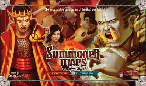 Summoner Wars: Phoenix Elves vs Tundra Orcs (First Edition)