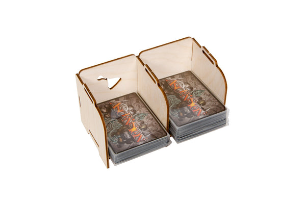 Broken Token - Stacking Tabletop Card Holder - Standard 2 Tray