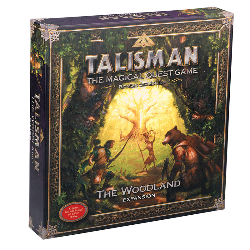 Talisman (New Pegasus Spiele Edition): The Woodland Expansion