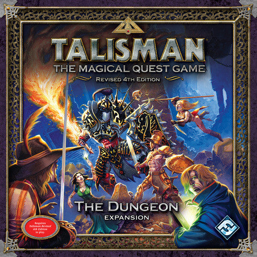 Talisman (New Pegasus Spiele Edition): The Dungeon Expansion