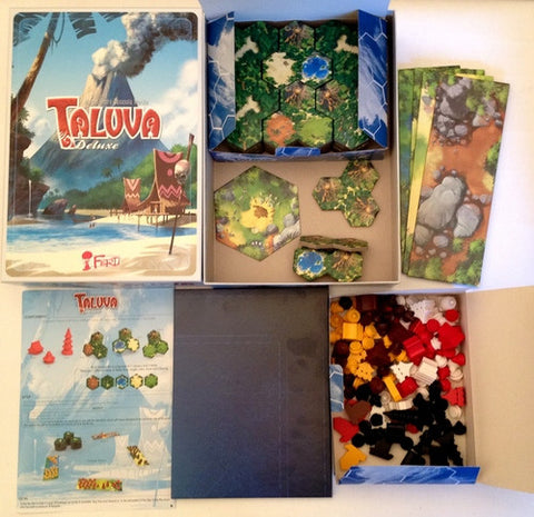 Taluva Deluxe: The 5th Player Expansion