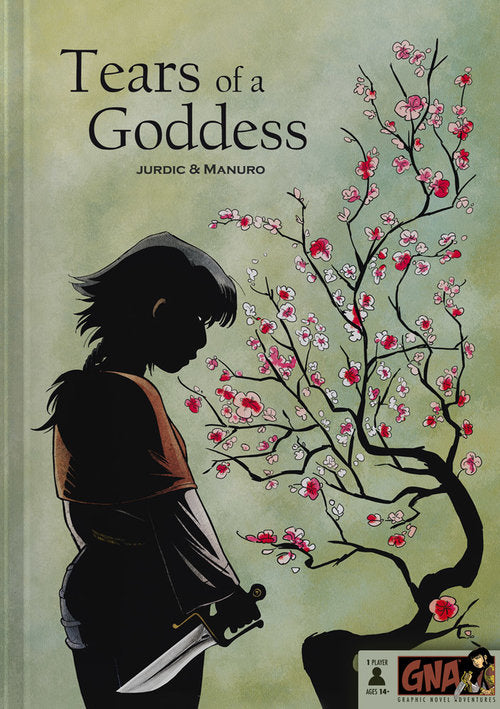 Graphic Novel Adventures - Tears of the Goddess (Book)