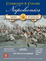 Commands & Colors: Napoleonics Expansion #3 – The Austrian Army