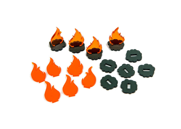 Broken Token - Smoke & Fire Tokens (10)