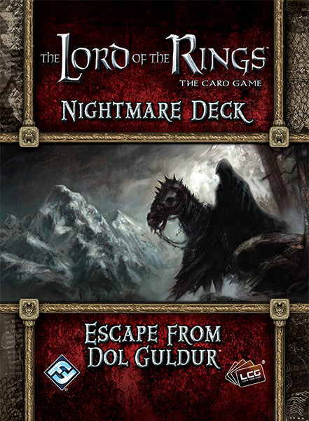 The Lord of the Rings: The Card Game - Nightmare Deck: Escape from Dol Guldur