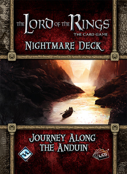 The Lord of the Rings: The Card Game - Nightmare Deck: Journey Along the Anduin