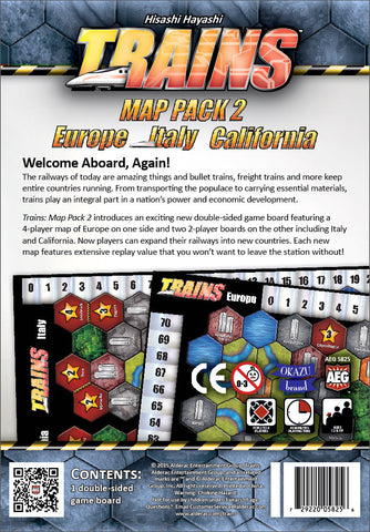 Trains: Map Pack 2 – Europe/Italy/California