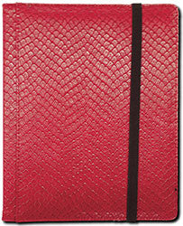 4-Pocket Dragonhide Sideloading Binder: Red