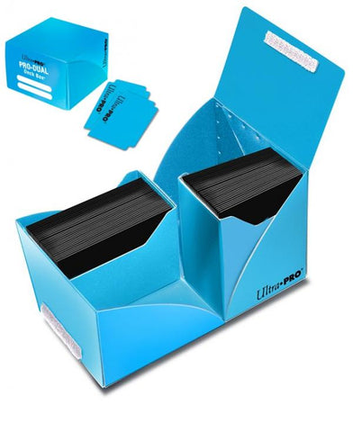 PRO Dual Standard Light Blue Deck Box (180)