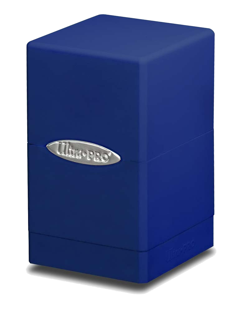 Ultra Pro Satin Tower Deck Box - Blue