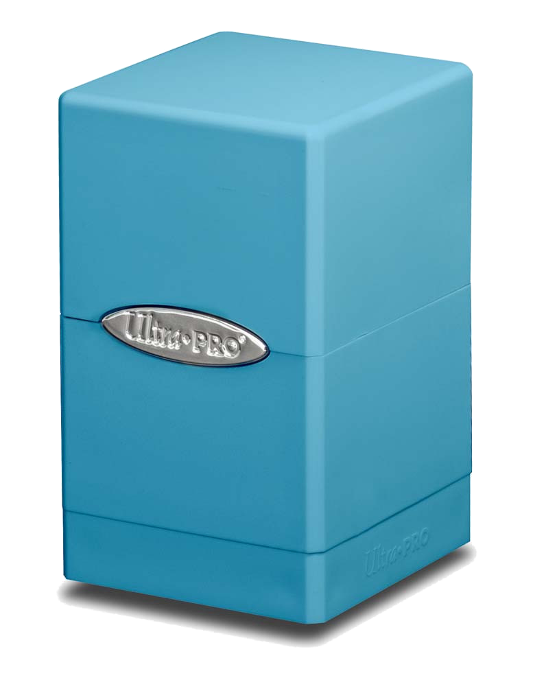 Ultra Pro Satin Tower Deck Box - Light Blue