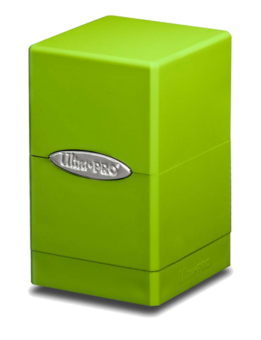 Ultra Pro Satin Tower Deck Box - Lime Green