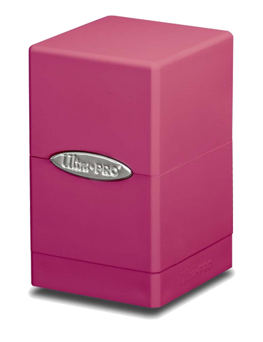 Ultra Pro Satin Tower Deck Box - Pink