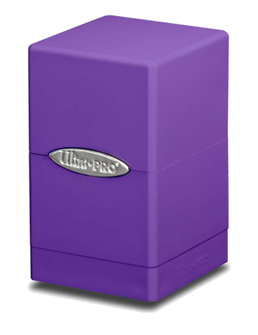 Ultra Pro Satin Tower Deck Box - Purple