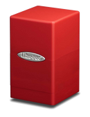 Ultra Pro Satin Tower Deck Box - Red