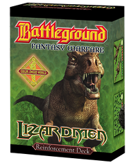 Battleground Fantasy Warfare: Lizardmen (Reinforcement Deck)