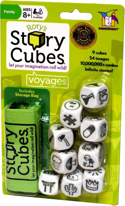 Rory's Story Cubes: Voyages (Blister Pack)