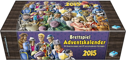 Brettspiel Adventskalender 2015 (Without Box)