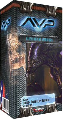 Alien vs Predator: Alien Infant Warriors