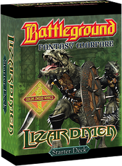 Battleground Fantasy Warfare: Lizardmen (Starter Deck)