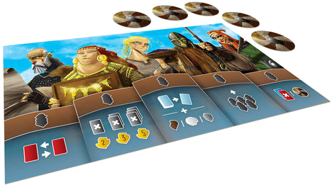 Shipwrights of the North Sea: The Townsfolk Expansion