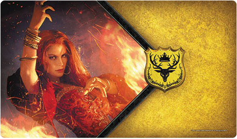 A Game of Thrones: The Card Game (Second Edition) - The Red Woman Playmat