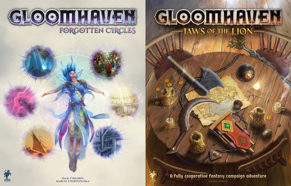 Gloomhaven: Jaws of the Lion + Forgotten Circles Bundle