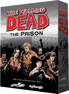 The Walking Dead: The Prison - Board Game