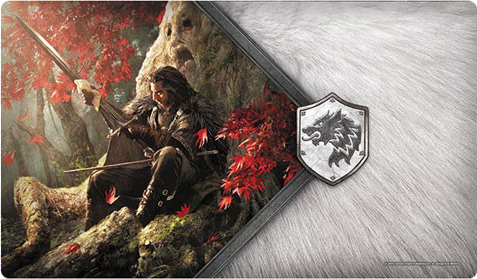 A Game of Thrones: The Card Game (Second Edition) - The Warden of the North Playmat