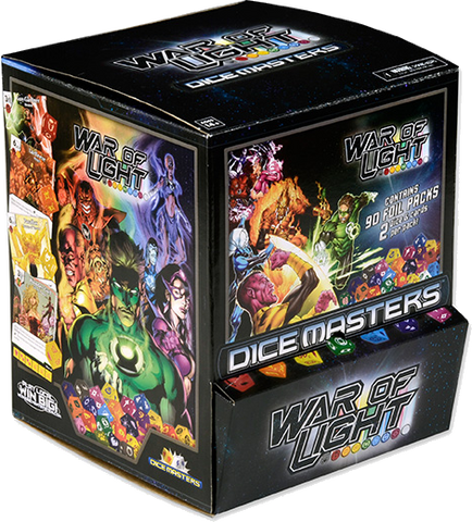 DC Dice Masters - War of Light Gravity Feed Display