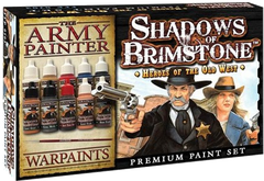 Shadows of Brimstone: Heroes of Old West Paint Set