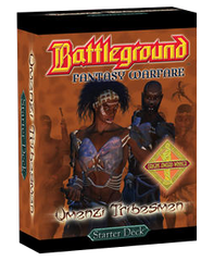 Battleground Fantasy Warfare: Umenzi Tribesmen (Starter Deck)