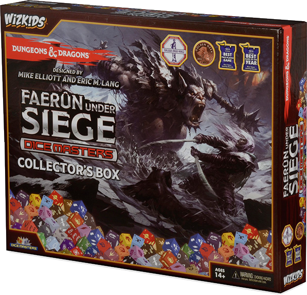 Dungeons & Dragons Dice Masters: Faerûn Under Siege - Collector's Box