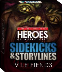 Heroes of Metro City: Vile Fiends Bonus Card Pack