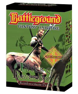 Battleground Fantasy Warfare: Elves of Ravenwood (Reinforcement Deck)