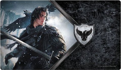 A Game of Thrones: The Card Game (Second Edition) - The Lord Commander Playmat