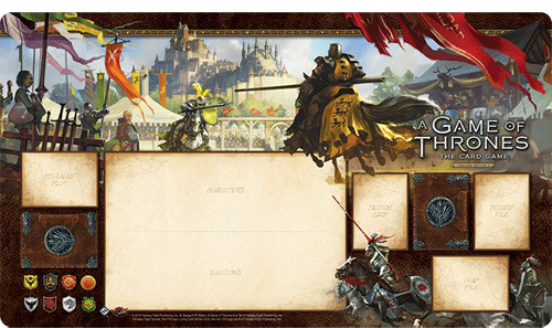 A Game of Thrones: The Card Game (Second Edition) - Knights of the Realm Playmat