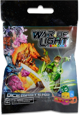 DC Dice Masters - War of Light Booster Pack (6 Packs)