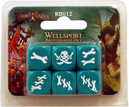 Rum and Bones: Wellsport Brotherhood - Dice