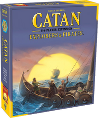 Catan: Explorers & Pirates - 5-6 Player Extension (Second Edition)