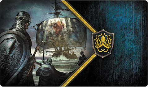A Game of Thrones: The Card Game (Second Edition) - Ironborn Reavers Playmat