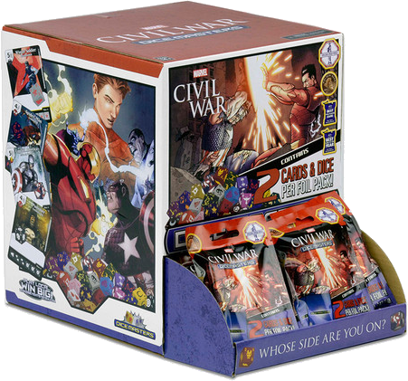 Marvel Dice Masters: Civil War - 90 Count Gravity Feed Display