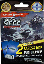 Dungeons & Dragons Dice Masters: Faerûn Under Siege - Booster Pack