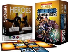 Heroes of Metro City: Sidekicks & Storylines