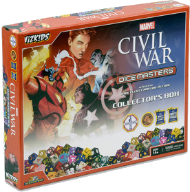 Marvel Dice Masters: Civil War - Collector's Box
