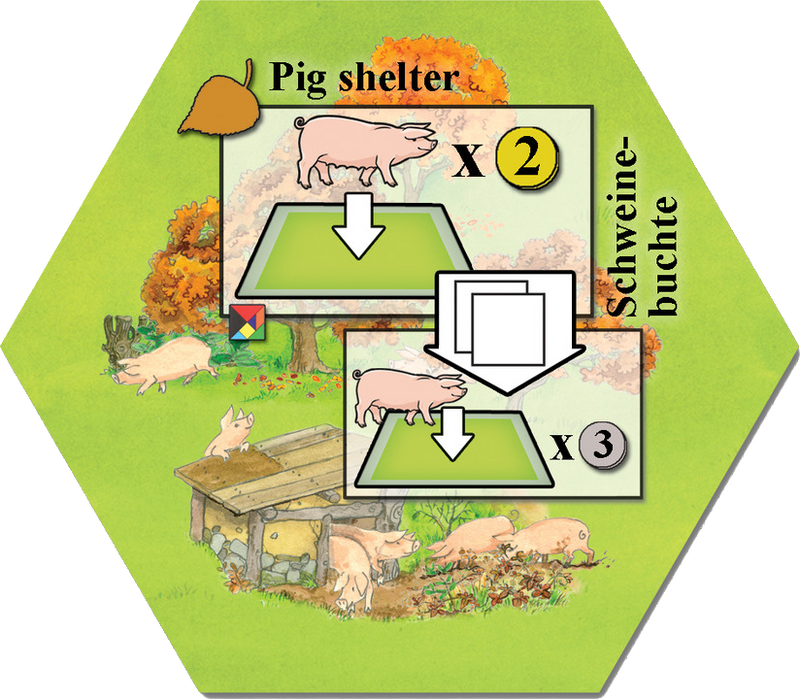 Keyflower: Pig Shelter