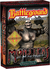 Battleground Fantasy Warfare: Monsters & Mercenaries (Starter Deck)