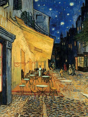 Puzzle - Van Gogh - Café Terrace at Night back 1500pc