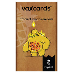 Vaxcards: Tropical Expansion Deck