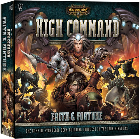Warmachine: High Command – Faith & Fortune